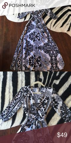 Beautiful maxi dress Brand new without tags maxi dress sz m.tag says large but would fit m Dresses Maxi