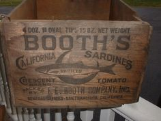 Booth's California Sardines