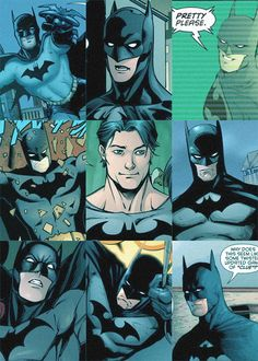 Compilation of Dick Grayson as Batman