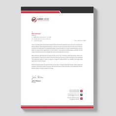 Letterheads Templates Free Download Magnificent Letterhead Template Free Download #letterhead #design #business .