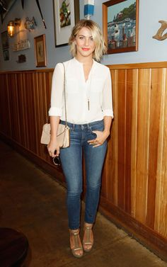 Julianne Hough- Love her hair and outfit!!
