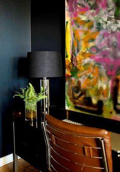 Home Tour: Erica Reitman's Boho Apartment via @domainehome