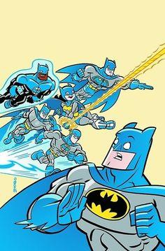 Bat Friends - Justice League dressed as Batman