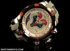 Invicta Venom 14467 http://invictamexico.com/colecciones/venom/invicta-hombre-14467-venom-reloj-acero-inoxidable-plata.html
