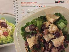 Creamy Chicken Salad - FIXATE cookbook recipe