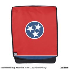 Tennessean flag, American state flag Backpack