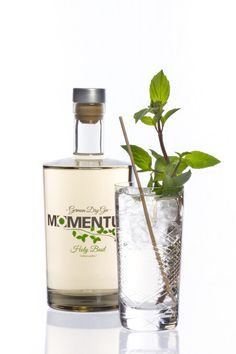 Momentum German Dry Gin  & Tonic with Basil