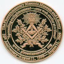 freemason coins -