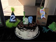 Here are some of the cute decorations I made for Aiden's birthday party. I used No bones about it and layered letters alphabet stamp. Stampin Up, Alphabet Stamps, Dinosaur Birthday, 2nd Birthday Parties, I Card, Bones, Card Making, Cake, Creative