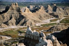 Valley from Sheep Mountain Table, Badlands National Park, South Dakota