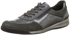 ara Rom, Damen Sneakers, Grau (fumo street -07), EU 41 (UK 7 / US 9.5) - http://on-line-kaufen.de/ara/41-eu-7-uk-9-5-us-ara-rom-damen-sneakers