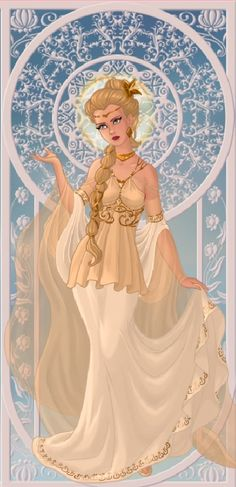 Goddess Hera, Patron god of women, marriage, and birth, Queen of Olympus. [Made in Azalea's Dress Up, Goddess Maker, by ME]
