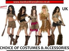 ★ Ladies Sexy CAVE WOMAN Fancy Dress Costume Cavewoman Smiffys Girl Club Womans | eBay
