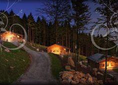 Bayerischer Wald Chalets Almdorf in Bayern Ferienhütte Bergchalet Luxuschalets