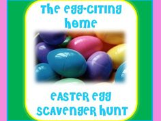 Easter Scavenger Hunt - Instant Download