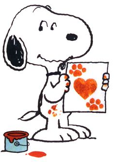 Snoopy with love