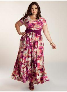 Mildred Plus Size Dress - Day Dresses by IGIGI