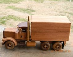 Items similar to Wooden Toy Log Truck - Kids Wooden Toy - Natural Finish - Reclaimed wood - All natural wooden children's toy - Gift for boys and girls on Etsy Wooden Toy Trucks, Wooden Car, Wooden Boxes, Farm Trucks, Tow Truck, Small Wood Projects, Car Storage, Wood Toys, Diy Toys
