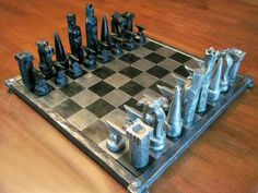 projects ideas metal chess pieces. Forged chess set  Metal ProjectsCraft ProjectsProject IdeasChess Chess piece Blacksmith Projects Pinterest pieces