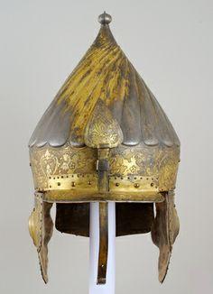 Sturmhaube  Osmanisch. Mitte 16. Jahrhundert.