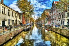 Amsterdam in Autumn by Svetlana Sewell, via 500px