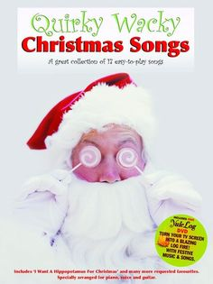 Quirky Wacky Christmas Songs - Book & DVD. £12.95