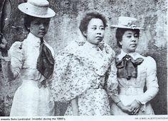 coffee plantation heiresses, Philippines, 1800s