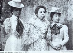 coffee plantation heiresses, Philippines, 1800s