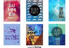 Party Beach Summer Banners