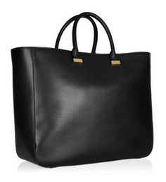 The Row 'XL Day Luxe leather Tote'  Perfect to carry laptop!
