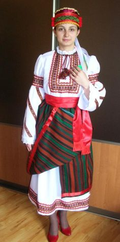 Ukrainian Bukovyna Costume