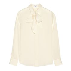 A silk blouse is a versatile piece that adds femininity to the wardrobe. I am loving the seventies vibe in Frame Denim's Le Bow blouse that has a detachable pussy-bow that can be tied for a more refined look.  | styloko.com