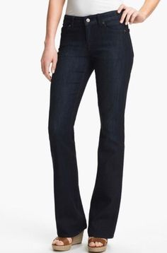 aab41231cd0 Cookie Johnson CJ Grace Bootcut Stretch Jeans Dark  CookieJohnson  BootCut  Nordstrom Jeans