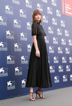 cb10c3ef057b37 Dakota Johnson at the 2015 Venice Film Festival. See all the stars' gowns,