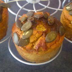 Pipapo Paleo: Rezept: Paleo Kürbis Muffins ...immer wieder sonnt...