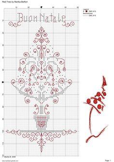 Point de croix *<3*Cross stitch buon Natale