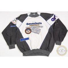 Vintage 80's Adidas Sport Winter Olympics German Sweatshirt | ($250) ❤ liked on Polyvore featuring adidas