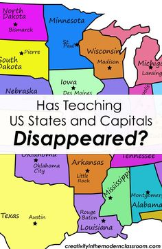 Has Teaching US States and Capitals Disappeared? - Wise Guys: