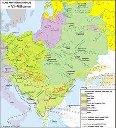 SLAVS IN VII - VIII