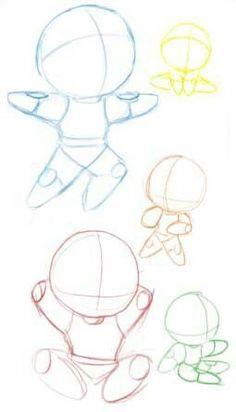 Como dibujar chibi