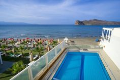 Georgina || Situated right on the beach of Agia Marina, Georgina hotel features an outdoor pool with separate children's section.