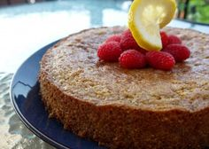 Lemon Polenta Cake — {Sweetly} Serendipity