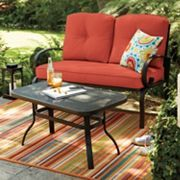 SONOMA outdoors™ 2-piece Claremont Loveseat & Coffee Table Set