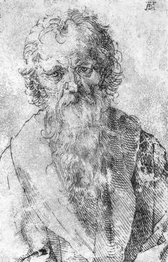 Dürer, Albrecht: Bärtiger Mann (Bearded Man), 1520