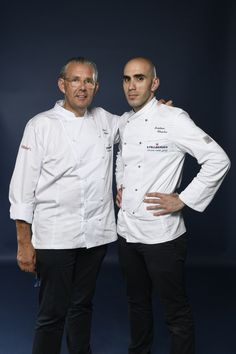 Frédéric Chastro and his Mentor Peter Goossens representing Belgium. Photo credit: Gianni Rizzotti.