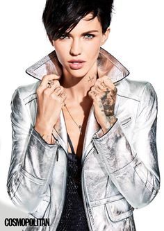 Ruby Rose - www.facebook.com/ILoveHotAndCuteCelebrities