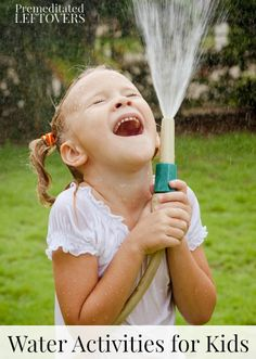 Outdoor Water Activities for Kids to Beat the Heat - fun and frugal water games to keep the kids cool this summer.