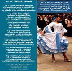 El Magazin de Merlo: Día de la Tradición Argentina: La poesia como vinc... Gaucho, Tango, Acting, Nature, Folklore, Frases, Summer School, Social Science, Ethnic Dress