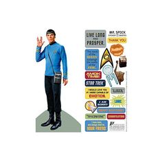 Spock Greeting Card