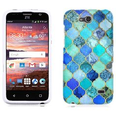 Amazon.com  for ZTE Maven Jade Marble Phone Cover Case  Cell Phones    Accessories 9e8a5834dc51